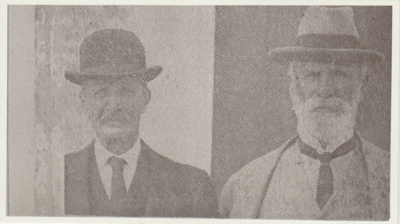 N T Speechley and W T May; 1930; 2018.399.01