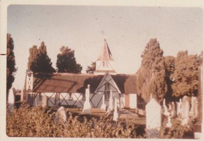 All Saints Church 1991; 1978; 2018.185.19