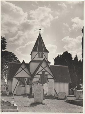 All Saints Church; Whites Aviation; 1940s?; 2018.181.19