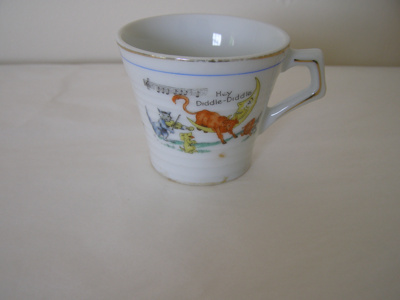 hand painted china cup