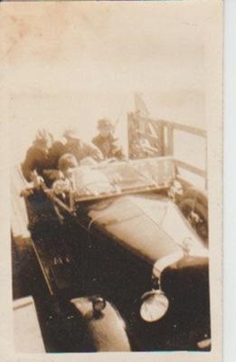 The Ausaldo on a punt 1929; 1929; 2017.462.10