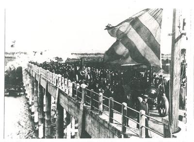 2nd Panmure Bridge opening; 14/08/1916; 2017.279.11
