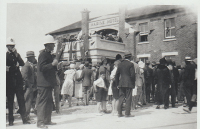 Opening of the concrete road; 1/01/1931; 2017.557.63