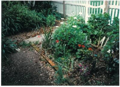 Front garden at Hawthorndene; Hattaway, Robert; 1989; 2016.281.73