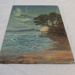 Oil painting of Music Point by Col A Morrow c1880; Col. A Morrow; O2017.121