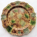 Decorative plate; James Whieldon; O2018.31