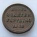 """""""Model"""" quarter farthing - 1848.; O2018.85"""