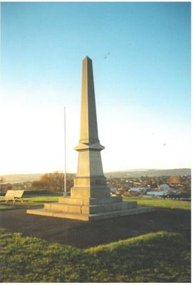 Soldiers Memorial, Stockade Hill; La Roche, Alan; 2016.310.03