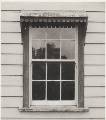Bell House casement window.; Roff, Richard; 2018.051.47