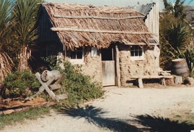 Sod Cottage, Howick Historical Village  ; Harris, Josie; 1980s; P2020.43.03