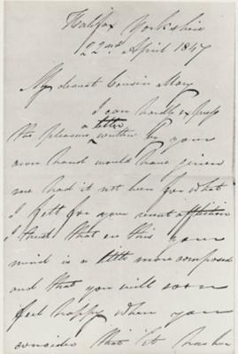 Letter from Alexander D Macdonald; 1847; 2018.380.09