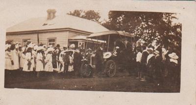 Pakuranga School Vice-Regal visit, 1907; 1907; 2019.010.03