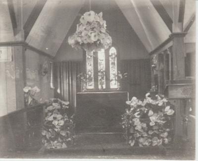 All Saints Church altar; Judkins, A J T; 1912-1918; 2018.232.11