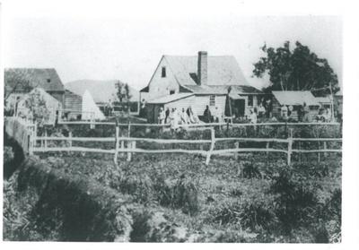 Military hospital, 1863; 1863; 2017.160.41