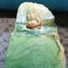 Oil Painting on Greenstone by Geoff Fairfield; Geoff Fairfield; O2017.126
