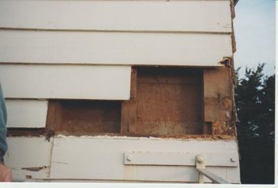 Bell House repairs.; La Roche, Alan; 1998; 2018.068.78
