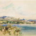 """Captain Smith's Howick and the Ranges""; Caroline Abraham (c.1809 - 1877); 1853; 2012.3.1"