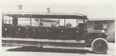 Crawford's Howick bus; c1930; 2017.494.58