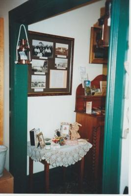 Howick Historical Village shop in Whites Homestead; La Roche, Alan; 2019.121.02