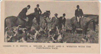 Pakuranga Hunt Club; 2017.381.38