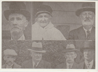 H Andrews, Mrs W J White and L White, Snr; 1930; 2018.399.04