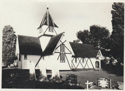 All Saints Church 1967; 1967; 2018.204.41