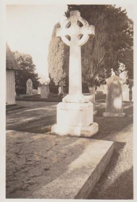 The Ponsonby Peacocke grave at All Saints Church; Hattaway, Robert; 2018.216.80