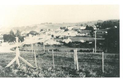 Howick Village from Stockade Hill, 1934; 1934; 2016.317.74