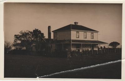 Bell Homestead.; Howick & Pakuranga Times; 1912; 2018.051.13