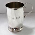 Christening Mug - Silver; O2017.148