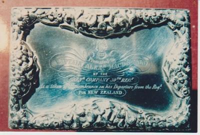 Captain Alexander Macdonald's silver snuff box; 2018.380.03