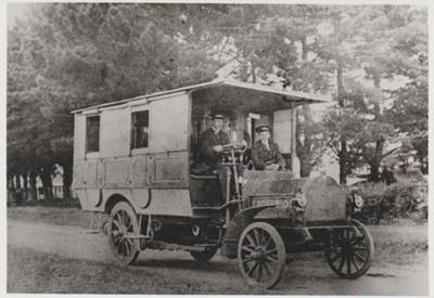 Ockenden's motor bus; Hattaway, R; c1920; 2017.410.14