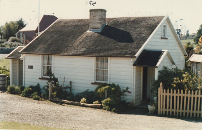 Briody-McDaniel's cottage, previously McDermott's, at the Howick Historical Village. Restoration complete.; Harris, Josie; P2020.98.18