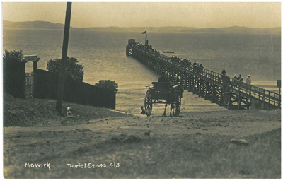 Howick Wharf 1909; Wilson, W T; 1909; 2016.588.25