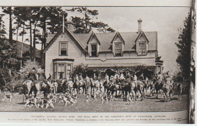 Pakuranga Hunt Club final meet of the season.; NZ Women's Weekly; 1920s; 2017.373.31