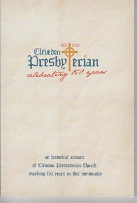 Clevedon Presbyterian Church 150th anniversary, 1858-2008: celebrating 150 years; Chapman, Mark; 2008; 2019.3.13