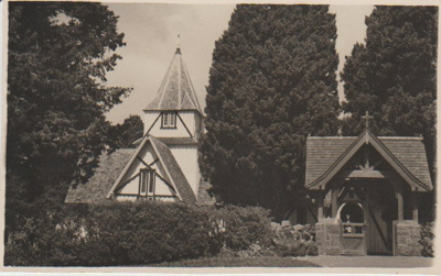 All Saints Church and Lych Gate; 1957; 2018.192.29