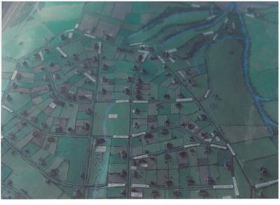 Howick Village model; La Roche, Alan; 1991; 2016.156.91