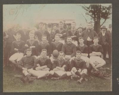 Howick Football Club 1902; 1902; 2017.357.05