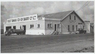 The East Tamaki Dairy Factory; 1921; 2018.157.61