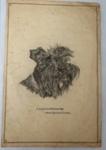 Charcoal sketch; Col. A Morrow; O2018.15