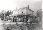 Pakuranga Hunt Club meet at Bleakhouse, Howick, c 1880.; c 1880; 13603