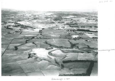 Aerial view of Pakuranga c.1965; Whites Aviation; c1965; 2016.494.97