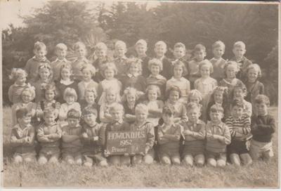Howick District High School Primer IIA, 1950; Sloan, Ralph S, Auckland; 1950; 2019.072.33