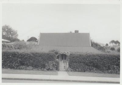 Smallman cottage on Cook Street.; La Roche, Alan; 1/09/1969; 2017.603.17