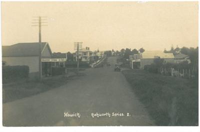 Picton Street 1947; Duncan, Frank, Auckland; c1918; 2016.184.08