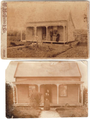 Heath's Cottage, Nelson St, Howick. C 1880/90. THi...