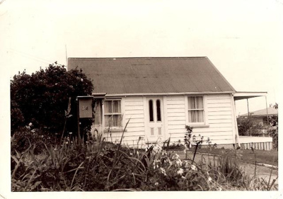 BW Photograph of Miss Hubert's Cottage, 34 Abercro...