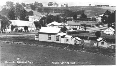 Howick - Corner of Picton and Wellington Streets; ca 1930; 00053