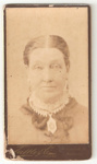 Carte de Visite of unknown woman.; Tuffle & Co.; 2010.90.1